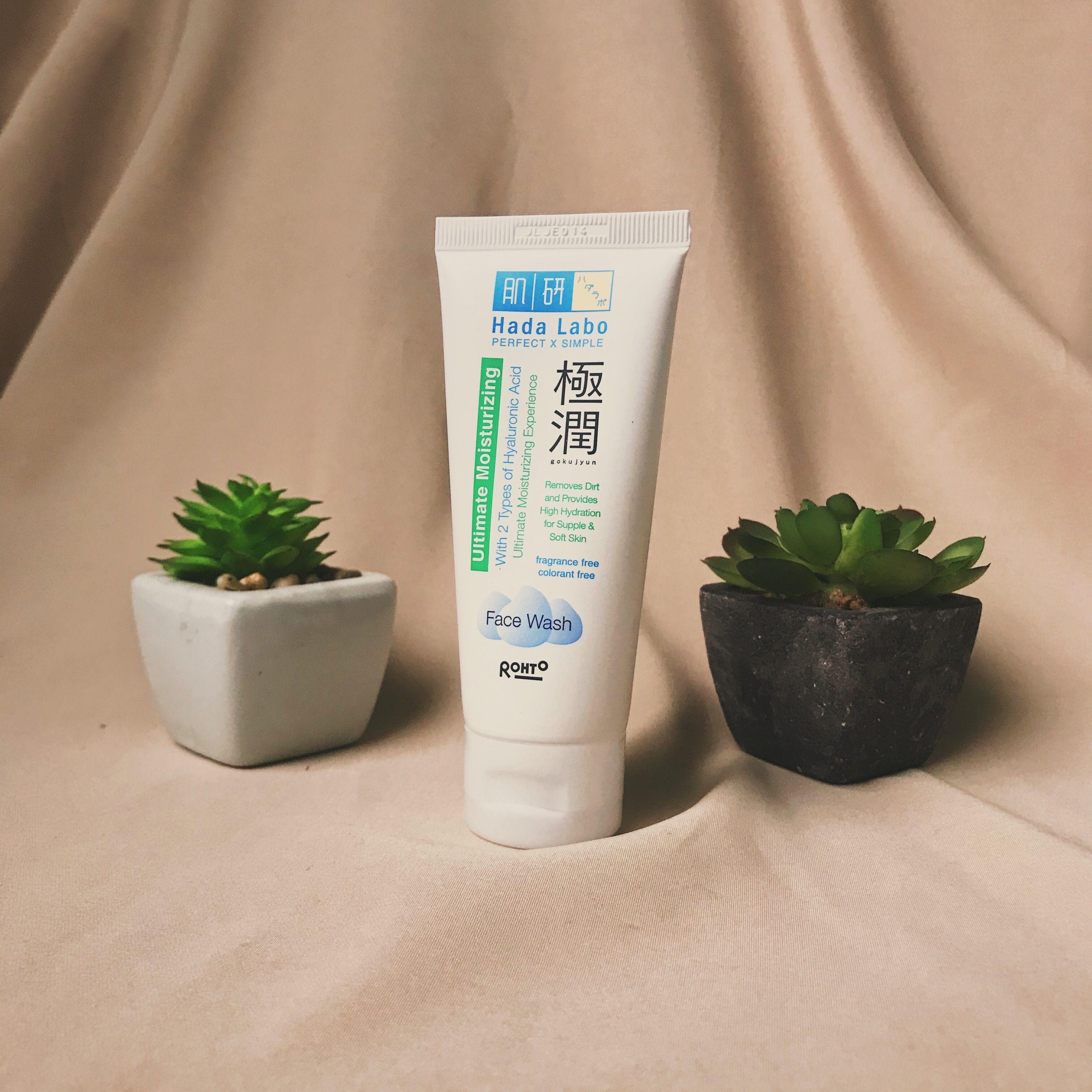 Review Hada Labo Ultimate Moisturizing Gokujyun Face Wash Hada Labo Face Wash Skin Care Kit
