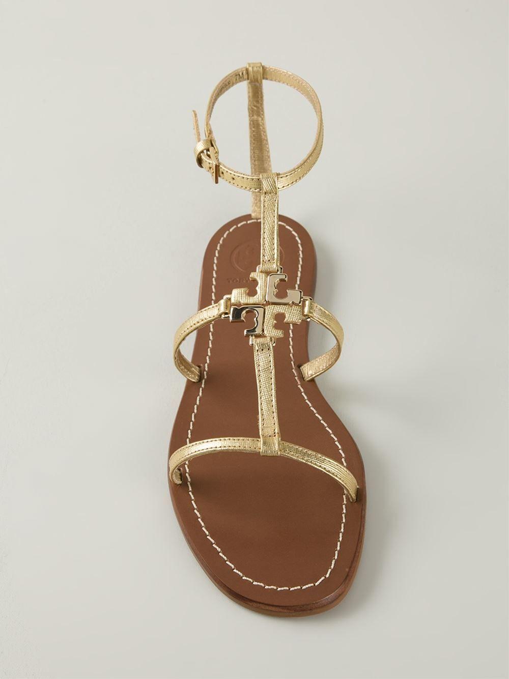 #toryburch #sandals #flats #gold #lowell #womens #summer www.jofre.eu