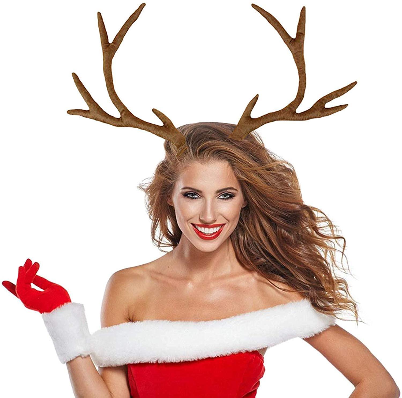 Pagreberya Reindeer Antlers Headband Christmas And Easter Party Headbands For Sale Online Ebay Antler Headband Party Headband Easter Party