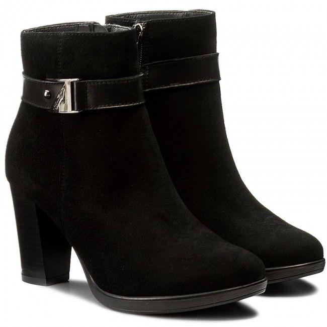 Botki Lasocki Morelli 03 Czarny Ankle Boot Shoes Boots