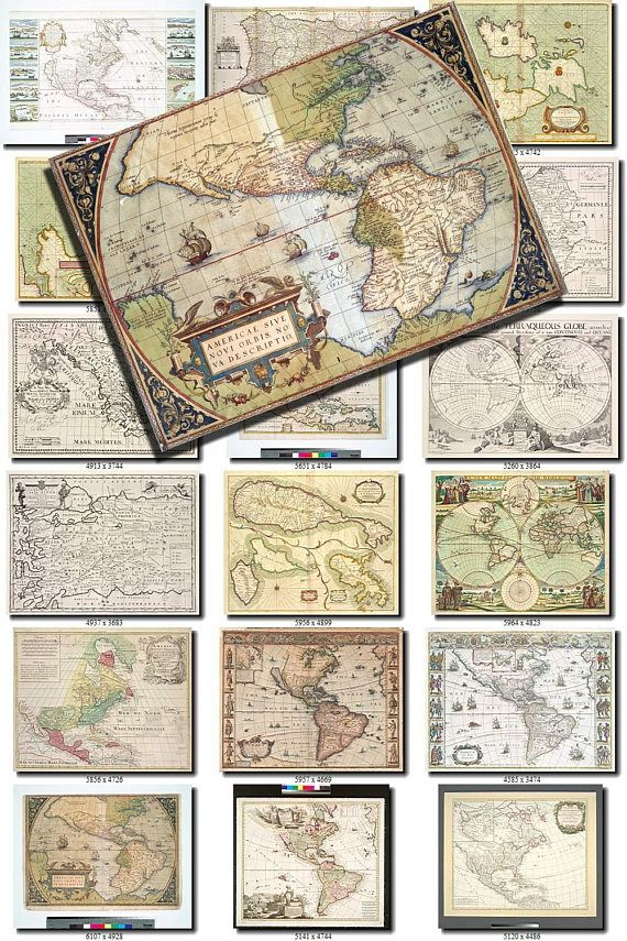 Antique maps 4 collection of 215 large size images printable old antique maps 4 collection of 215 large size images printable old ancient world ephemera card vintage earth download 300 dpi high resolution downloadable gumiabroncs Image collections