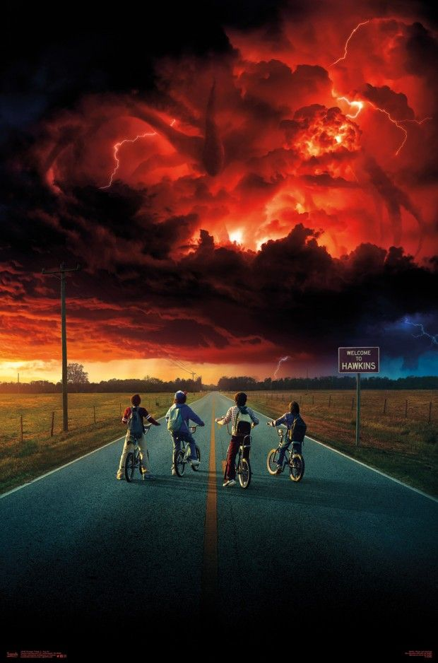 Stranger things posters lol yolo pinterest fondos for Fondo de pantalla stranger things