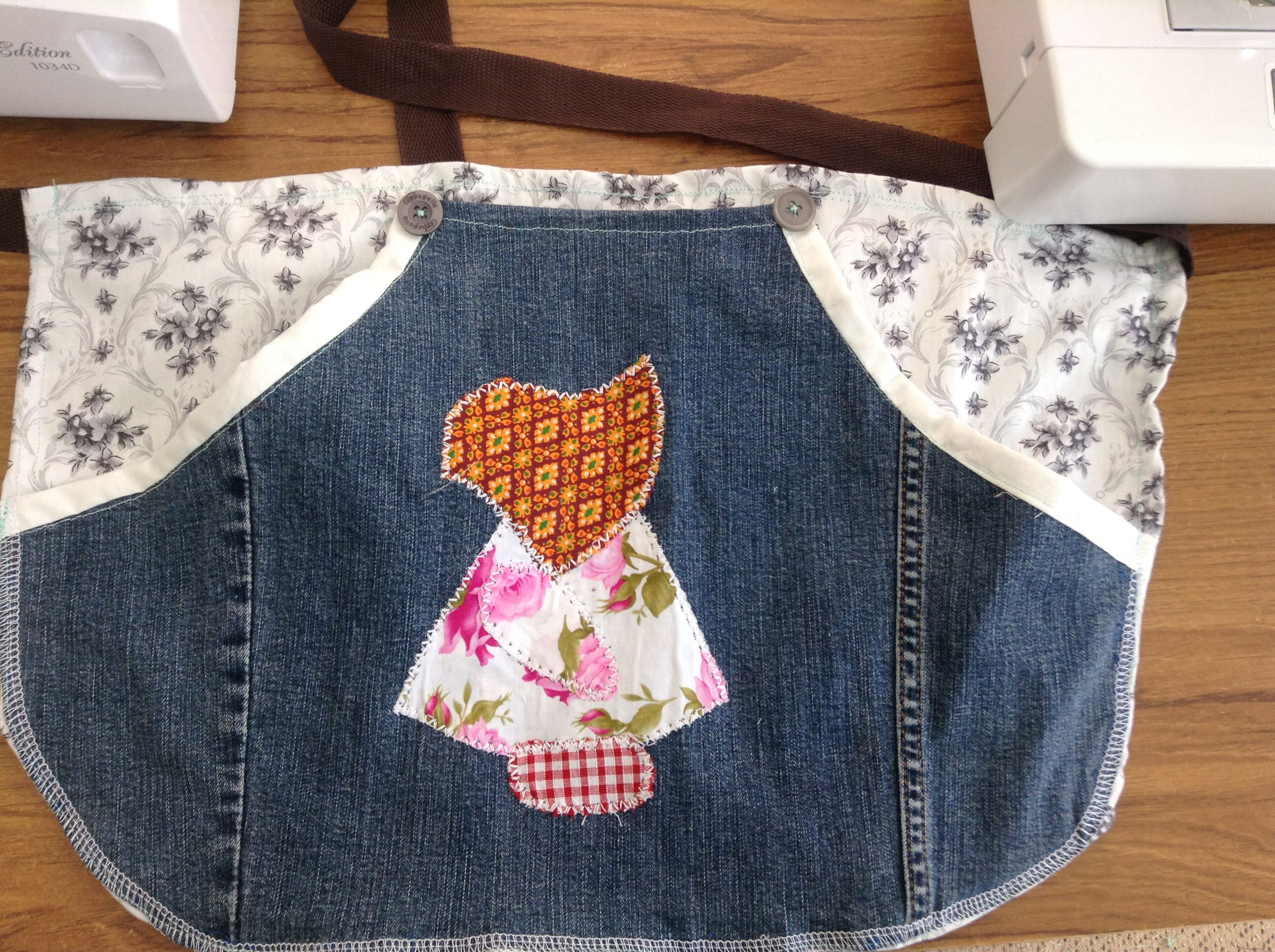 Sewing you old Peg Bag from your jeans