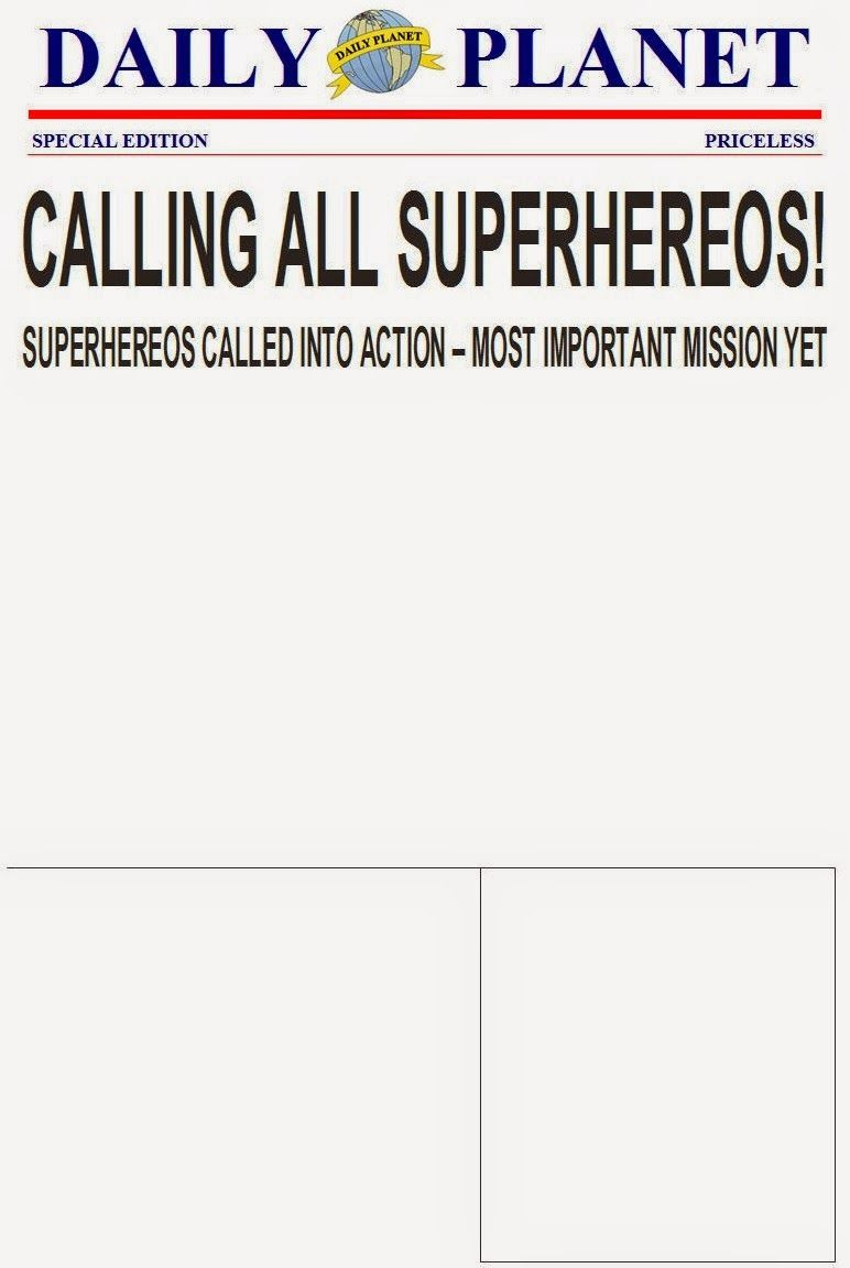 The Purple Patch: Superhero Birthday invitation template | Superhero ...