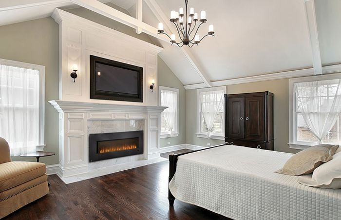 Decor Contemporary Fireplace | Fireplace (in B #49102