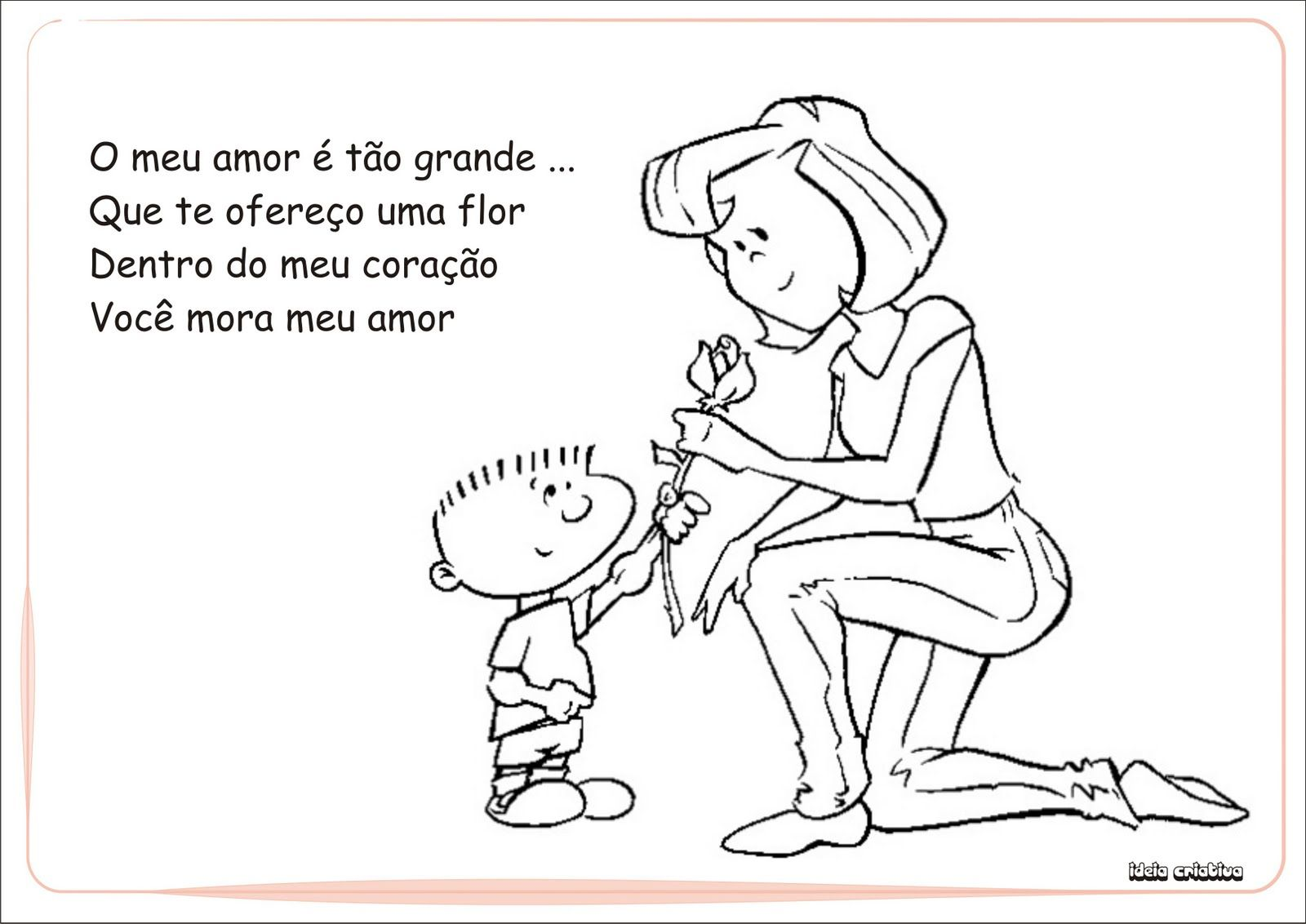 Album Homenagem Dia Das Maes Educacao Infantil Educacao Infantil