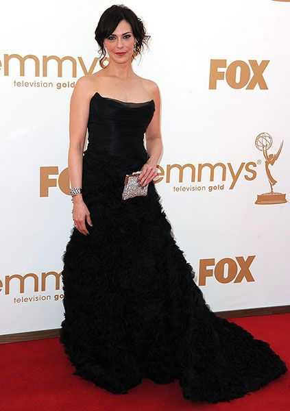 If Looks Could Kill?    The Killing's Michelle Forbes is a dark beauty at the 63rd Annual Emmy Awards. Does her gown really kill, or does it fail to thrill?