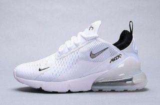 Nike Air Max 270 WhiteWhiteBlack AH8050 100 Women's Men's