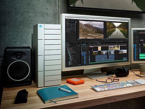 LaCie unveils Thunderbolt 3 desktop storage devices