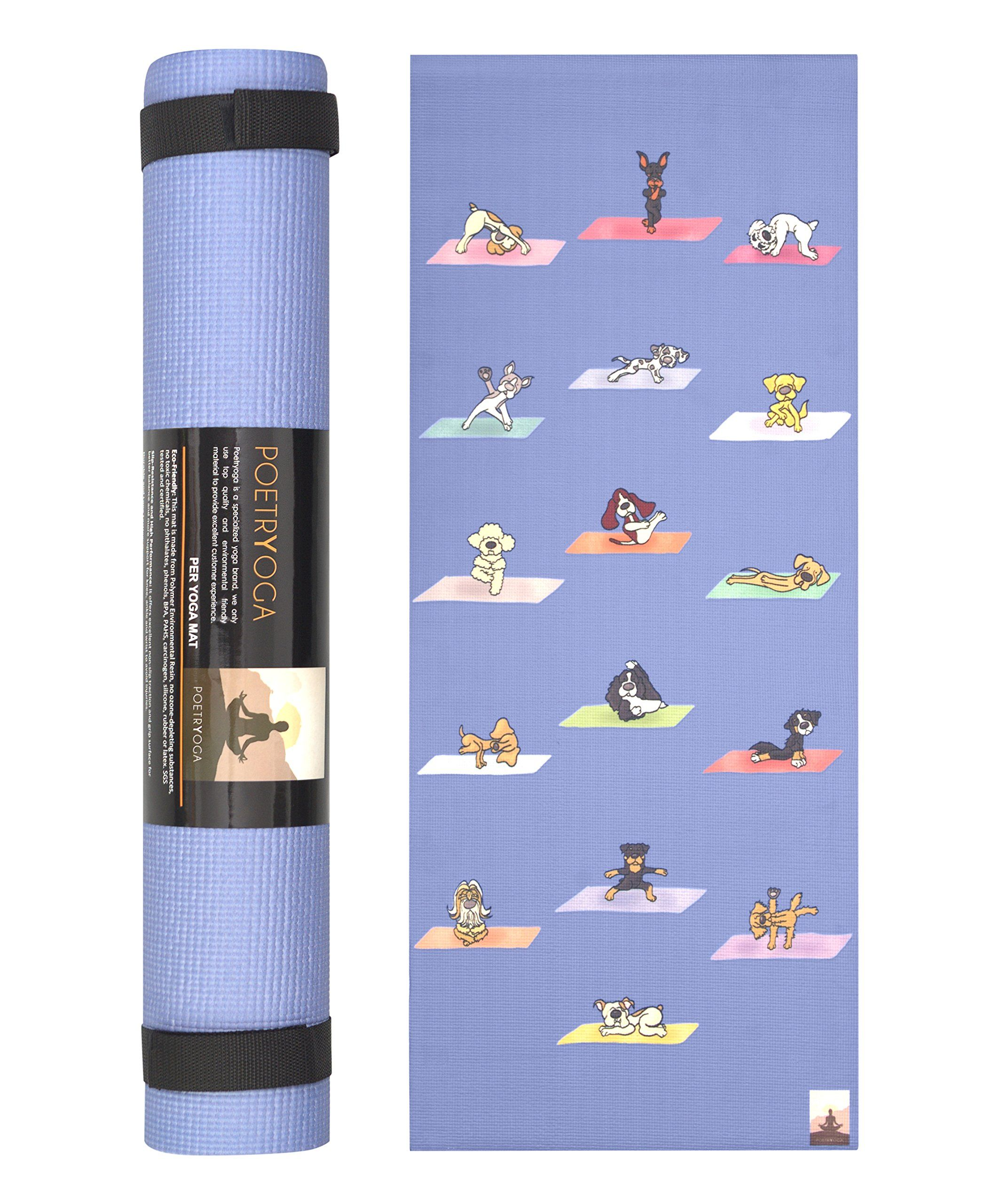 mat with strap thick mats brands ip black fitness com carrying yoga wakeman extra walmart
