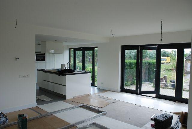 Kastenwand woonkamer google zoeken keuken pinterest - Woonkamer met keuken geopend ...