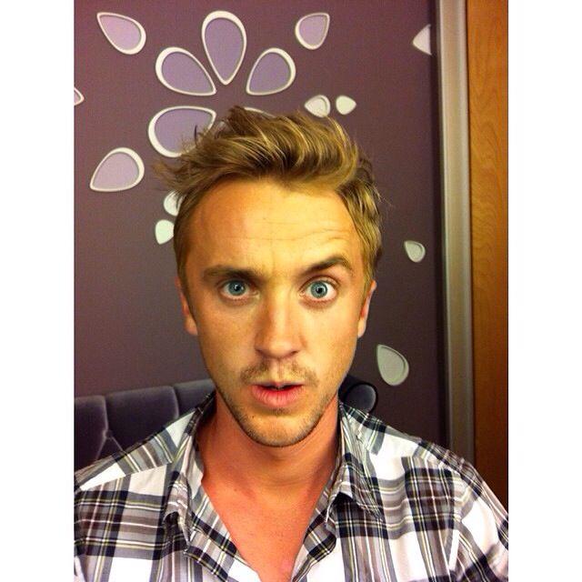 Tom Felton #selfie