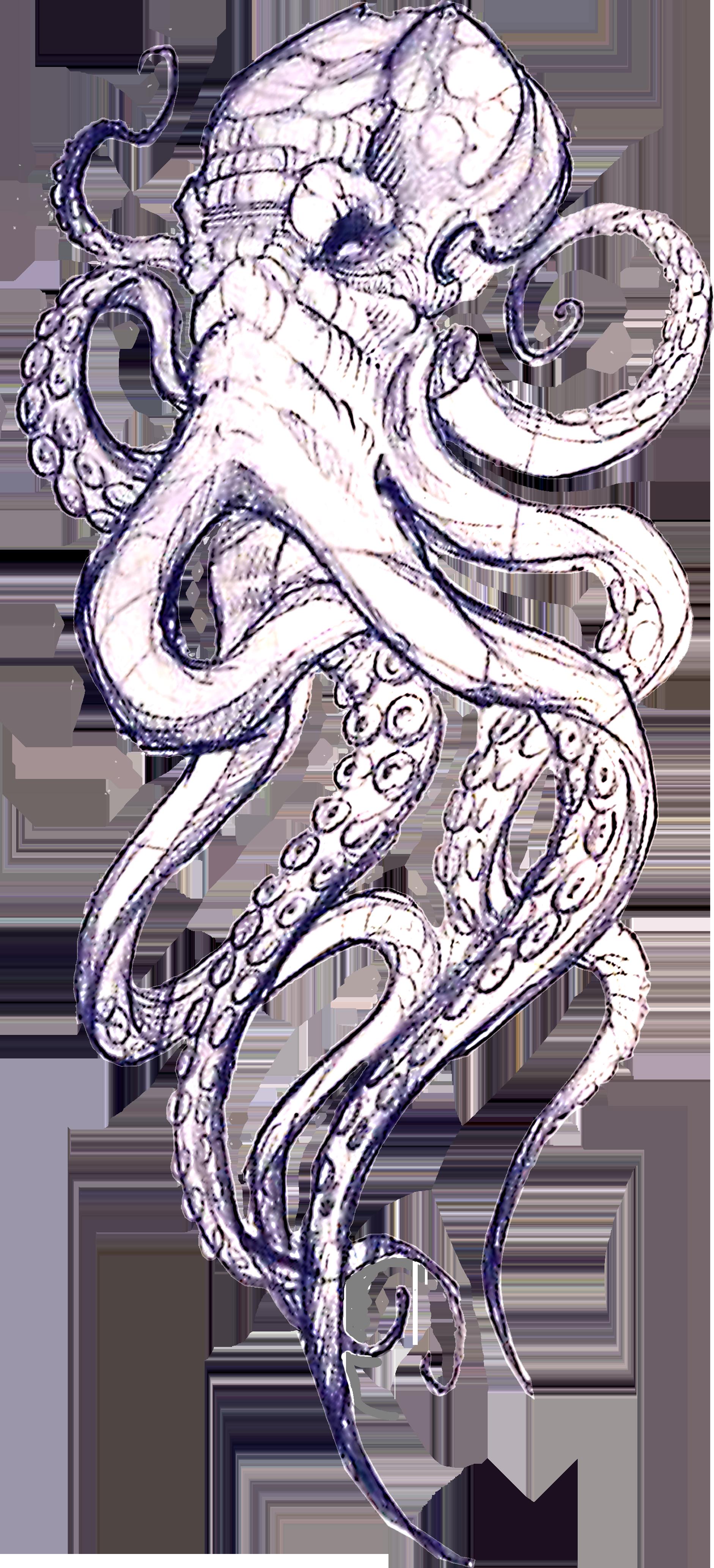 , steampunkoctopustattoodesign in 2020 Kraken tattoo