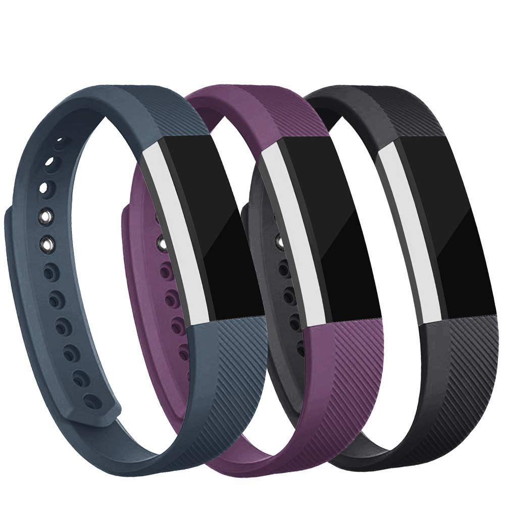 iGK Replacement Bands Compatible for Fitbit Alta and Fitbit Alta HR Newest Adjustable Sport Strap Smartwatch Fitness Wristbands