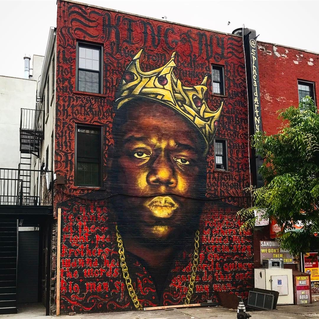 Biggie Smalls Mural in Bed Stuy May Come Down | Brownstoner | State