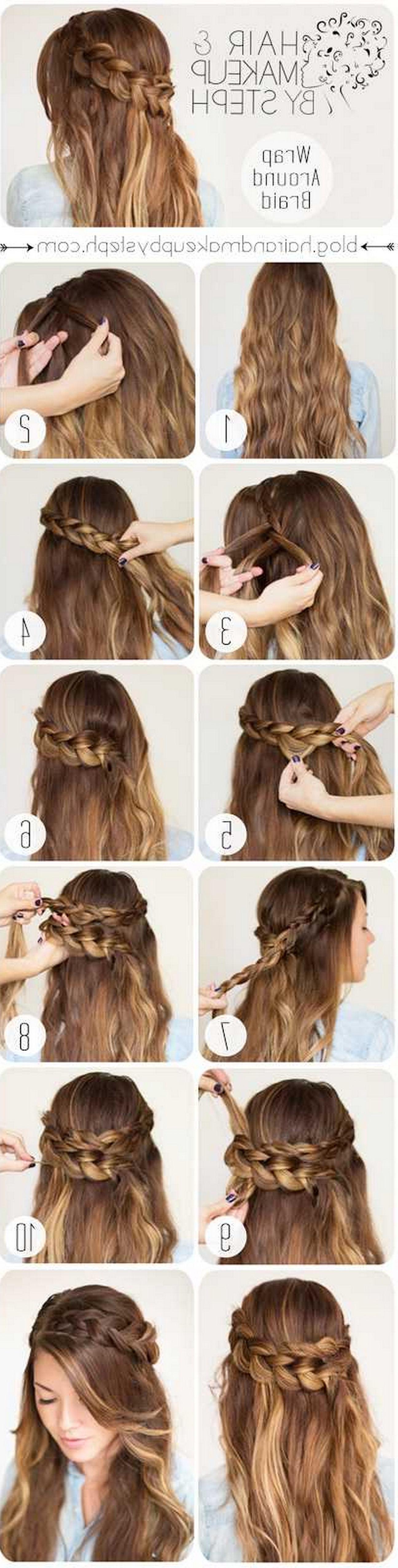 Home braids new wrap around braid hairstyles hair trendsprom