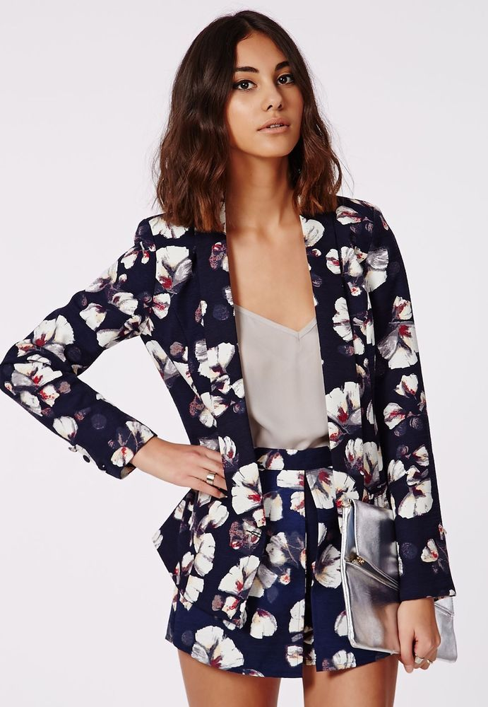 562e030f9b2d MISSGUIDED FLORAL BLAZER SHORTS CO ORD 12 14 Wedding Jacket Flower in  Clothes, Shoes & Accessories, Women's Clothing, Other Women's Clothing |  eBay