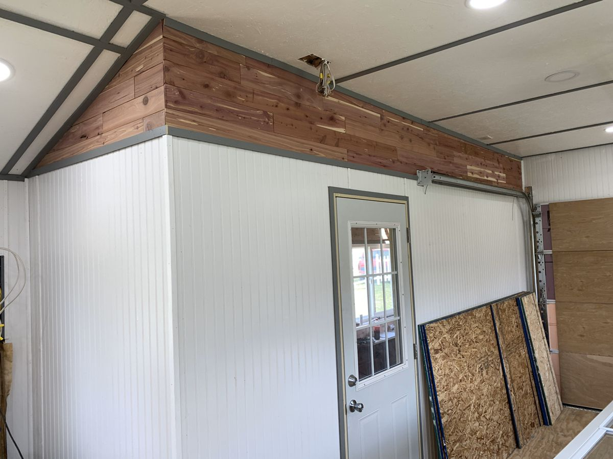 Pin on Covid 19 stay at home garage man cave project