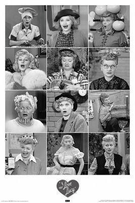 The many faces of the incredible Lucille Ball.