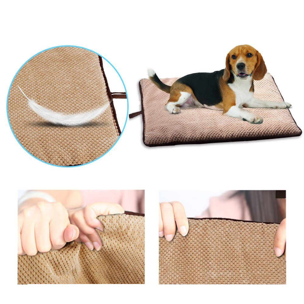 PAWISE Dog Bed Cat Bed Dog Mat Teflon Cushion Waterproof