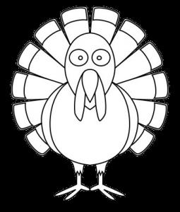 Turkey black and white carson dellosa turkey clipart - WikiClipArt