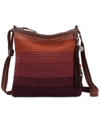 The Sak Lucia Ombre Crochet Crossbody - Red 511dbd2d651f0