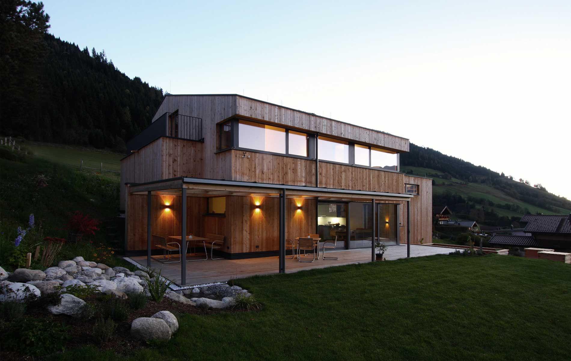 Einfamilienhaus holzhaus modern was wir bauen for Architektur einfamilienhaus grundrisse