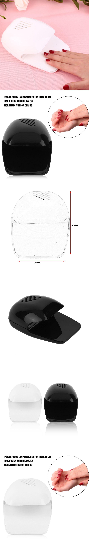 YM709 Small Size Nail Dryer Lamp Personal Use Nail Polish Fashion ...