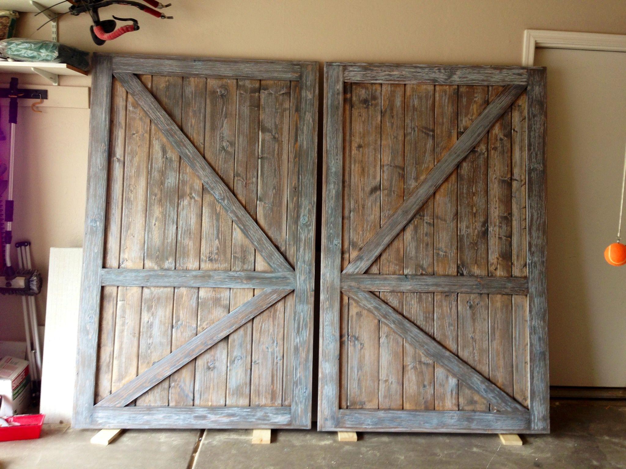 DIY Projects Barn Door Closet Doors Brag From Ana White