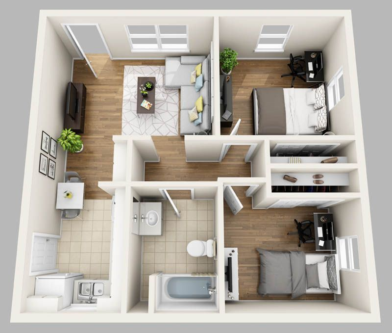 College Park Apartments: Here At College Park Gainesville, We Lease Studio, One