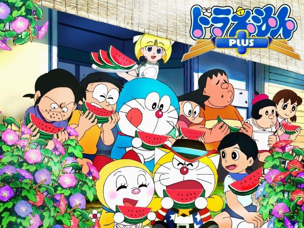 Doraemon And Friends Wallpaper Hd