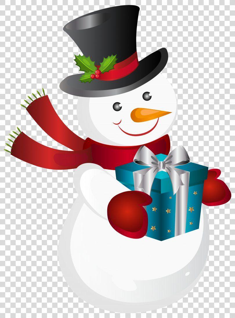 Snowman Christmas Gift Clip Art Snowman Png Snowman Christmas Christmas Card Christmas Ornament Christmas Gift Clip Art Christmas Snowman Christmas Gifts