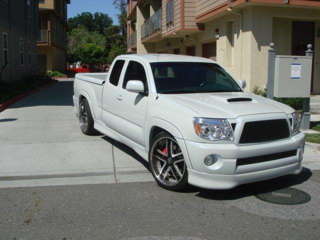 Toyota X Runner For Sale >> White X Runner Tacoma X Runner Toyota Tacoma X Runner