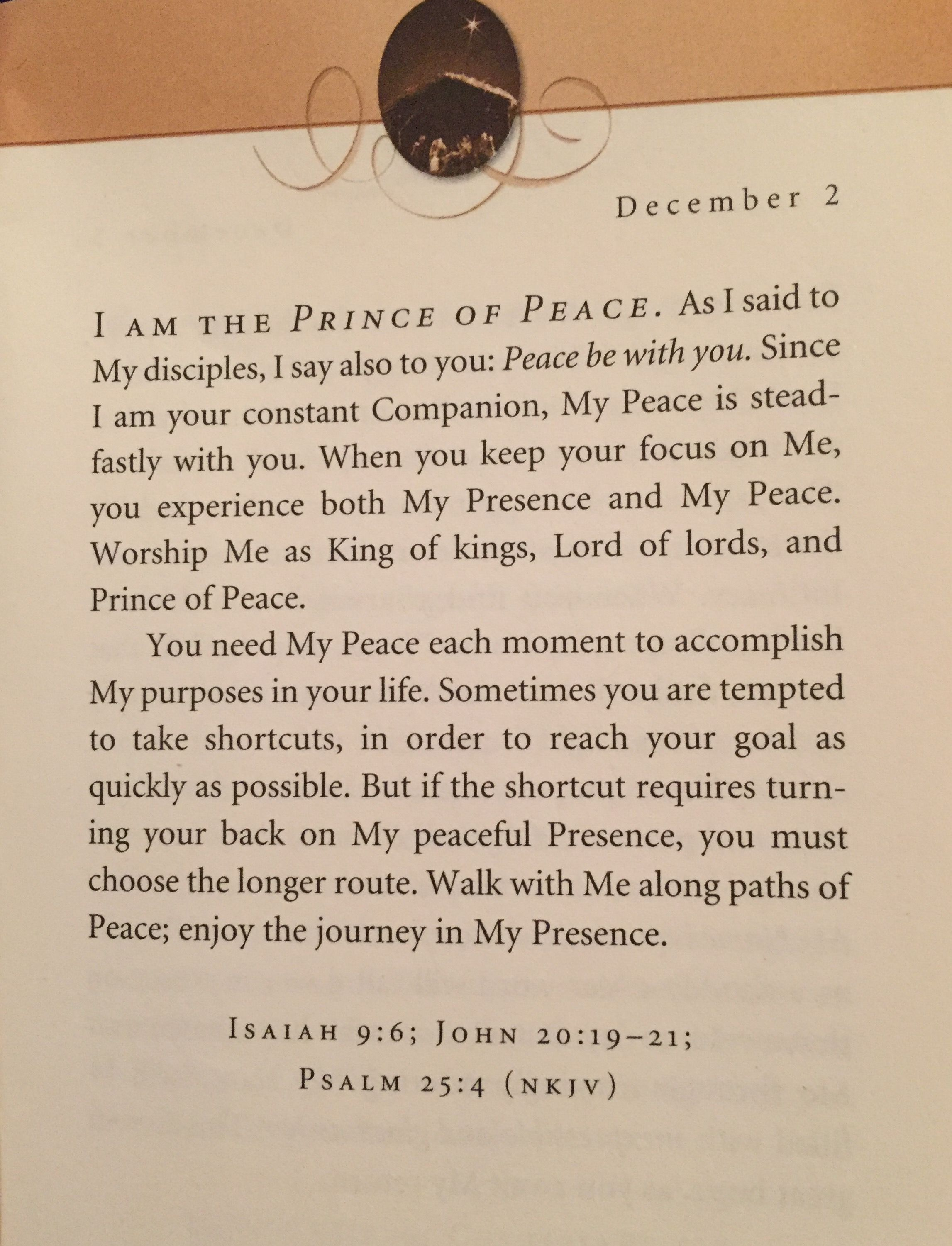 Good Morning Enjoy The Journey   Jesus Calling