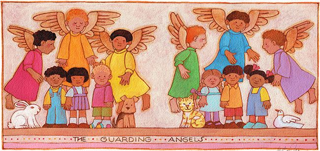 The Guarding Angels illustration by Tomie dePaola | R ...