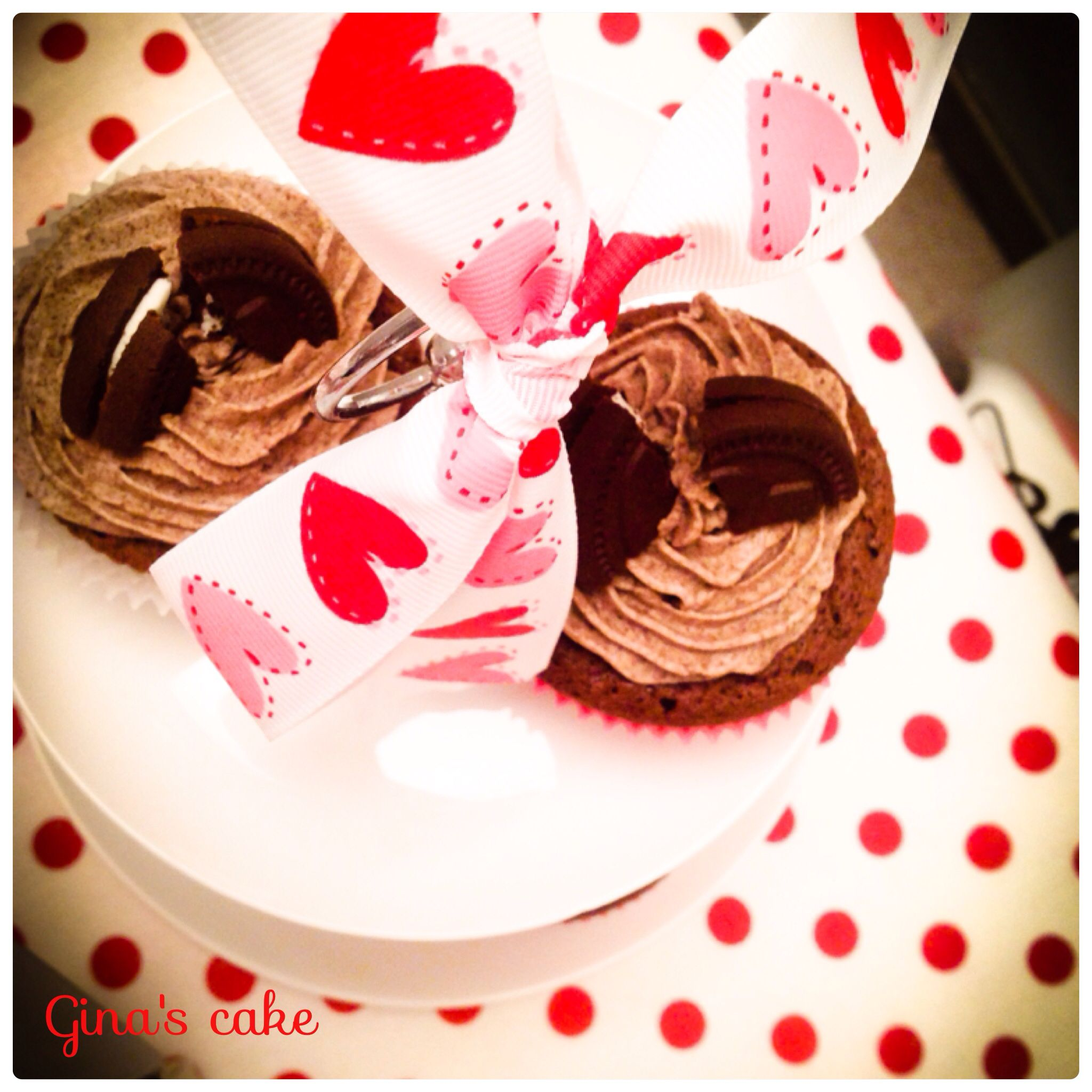 St. Valentine OREO cupcake