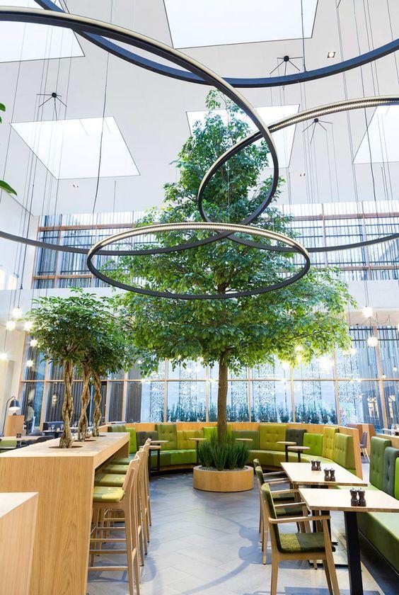 Green Food Court Ispiration Shoppingmall Shoppingmalldesign