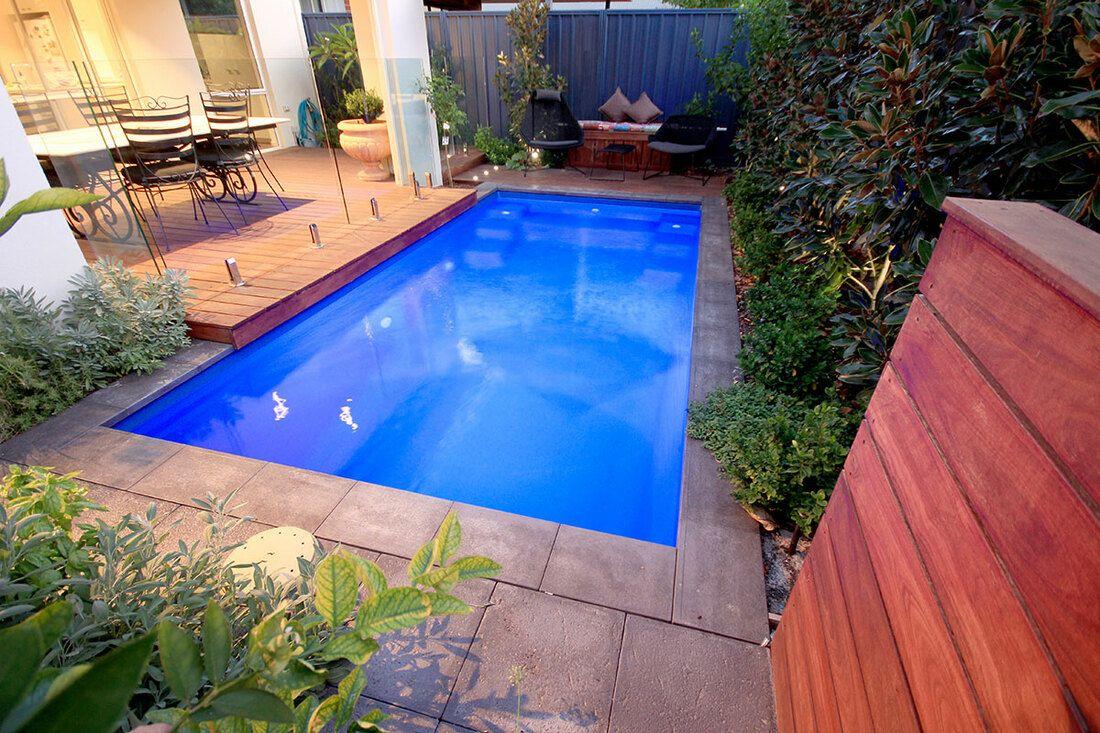 Inground Pools Brisbane Fiberglass Swimming Pools Backyard Pool Landscaping Inground Fiberglass Pools