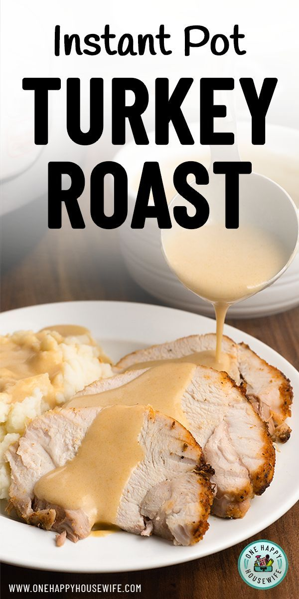 Photo of Tender Instant Pot Turkey Roast