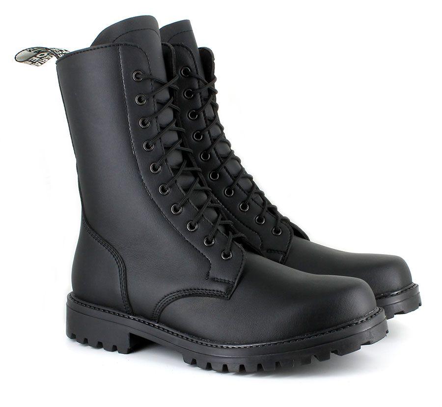 Combat Boot (Black) // Vegetarian Shoes | wishlist | Pinterest ...