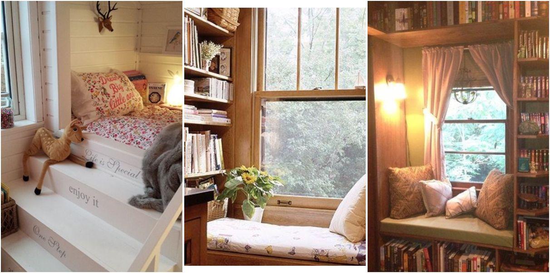 10 rincones de lectura para relajarnos rincones de - Butacas de lectura ...