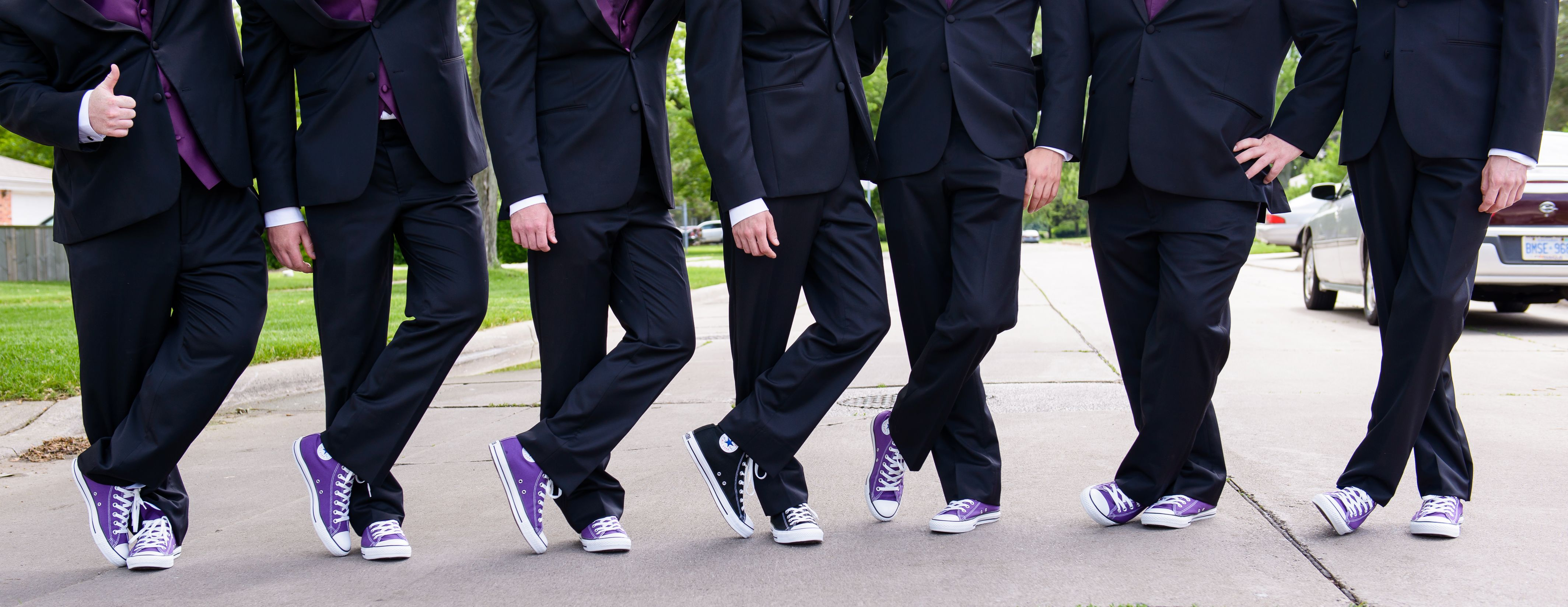 I wonder if I could convince Carlos to have the guys wear Converse ...