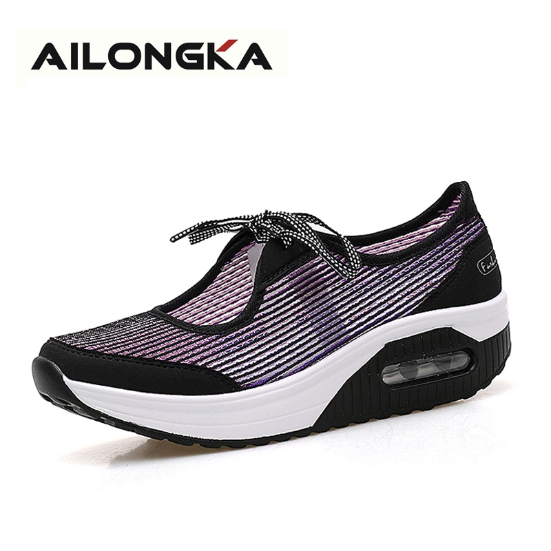 21.31$  Watch here - http://alivpy.shopchina.info/go.php?t=32794703145 - 2017 Spring Fashion Women Shoes Summer Flats Women's Casual Shoes Breathable Slip-on Sapato Feminino Big Size 35-41  #magazineonlinewebsite