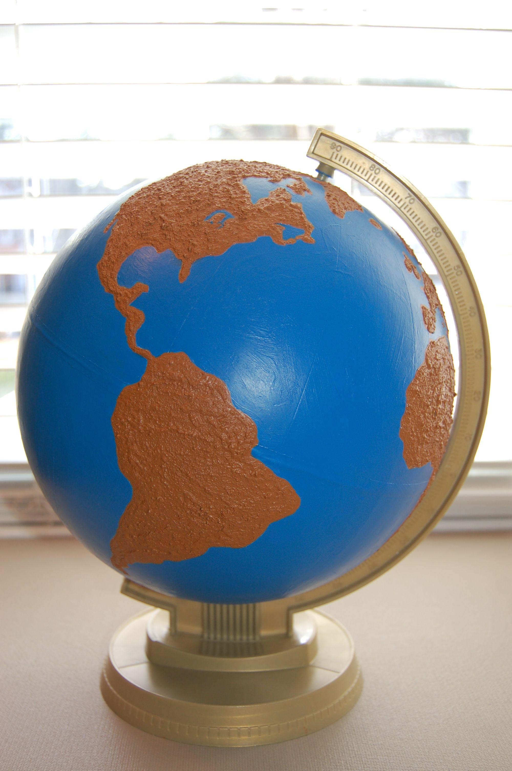Diy Land And Water Globe