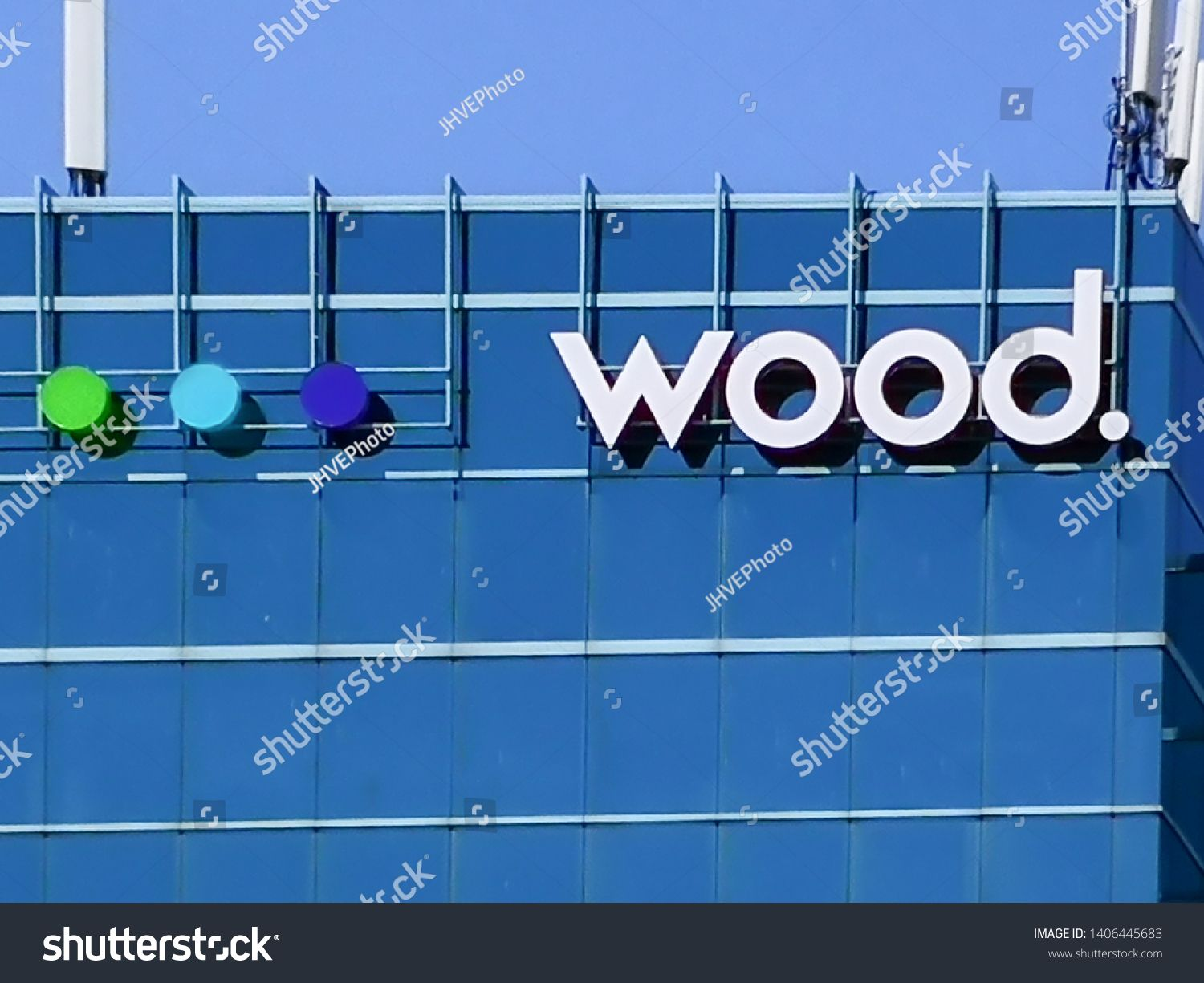 Oakville, Ontario, Canada May 20, 2019 Sign of Wood on