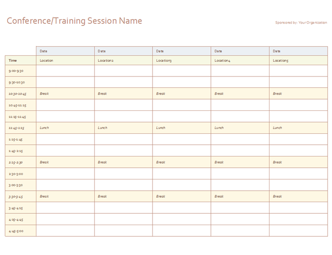 Day Schedule Template from i.pinimg.com