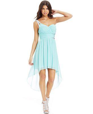 34ec8d8eed4 Possible Sweet 16 dress. City Studios Juniors  One-Shoulder High-Low Dress