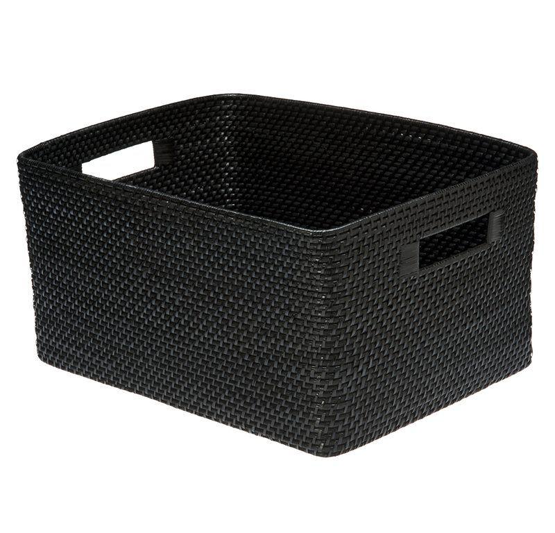 Rectangular Rattan Storage Basket in 2019 | Home | Storage ...