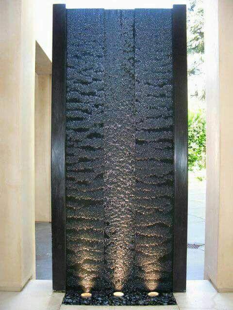 Cascadas Artificiales Y Muros De Agua Para La Casa By