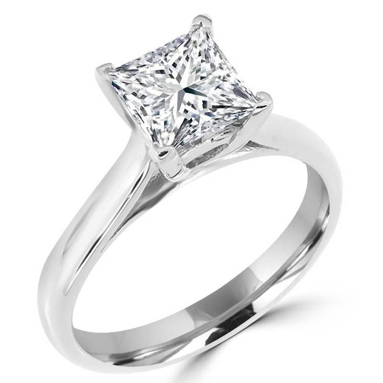 Pin On Diamond Solitaire Rings